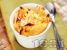 Рецепта Запечени макарони с яйца и захар